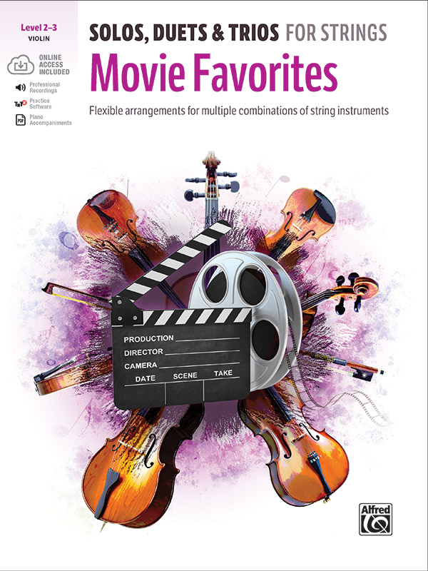 Solos, Duets, Trios for Strings: Movie Favorites