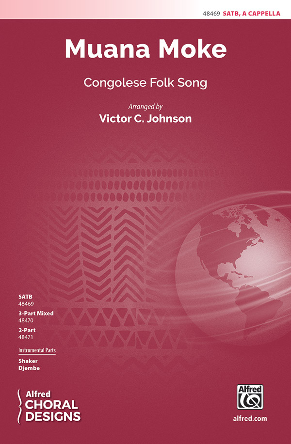 Muana Moke : SATB : Traditional : Traditional : Sheet Music : 00-48469 : 038081552927