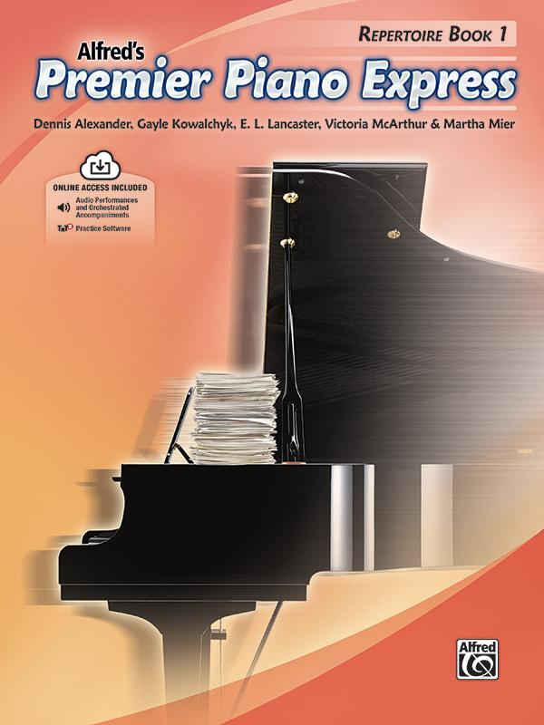 Premier Piano Express, Repertoire