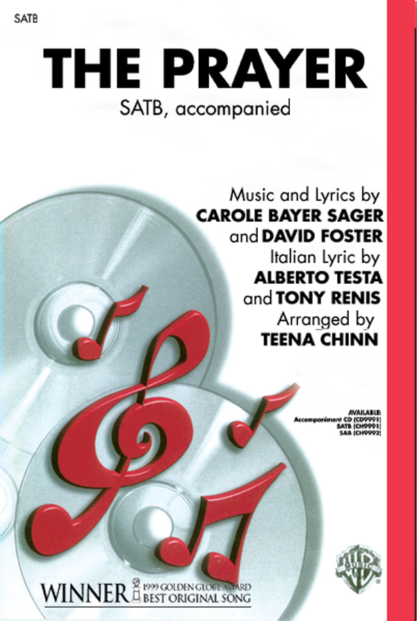 : SATB : Teena Chinn : David Foster : Celine Dion : Sheet Music : 00-CH9991 : 029156991512