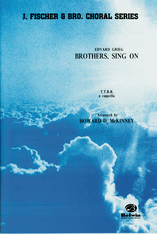 Brothers, Sing On : TTBB : Howard D. McKinney : Sheet Music : 00-FEC06927 : 029156169577