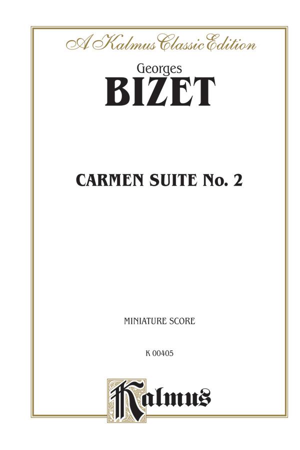 Carmen Suite II: Full Orchestra (Miniature Score): 0 (Kalmus Edition)