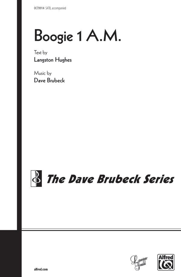 Boogie 1 A.M. : SATB : Dave Brubeck : Dave Brubeck : Sheet Music : 00-OCT9914 : 029156989328