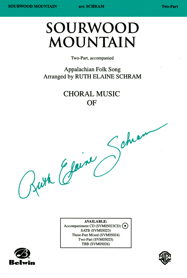 Sourwood Mountain : 2-Part : Ruth Elaine Schram : Sheet Music : 00-SVM05025 : 654979088462
