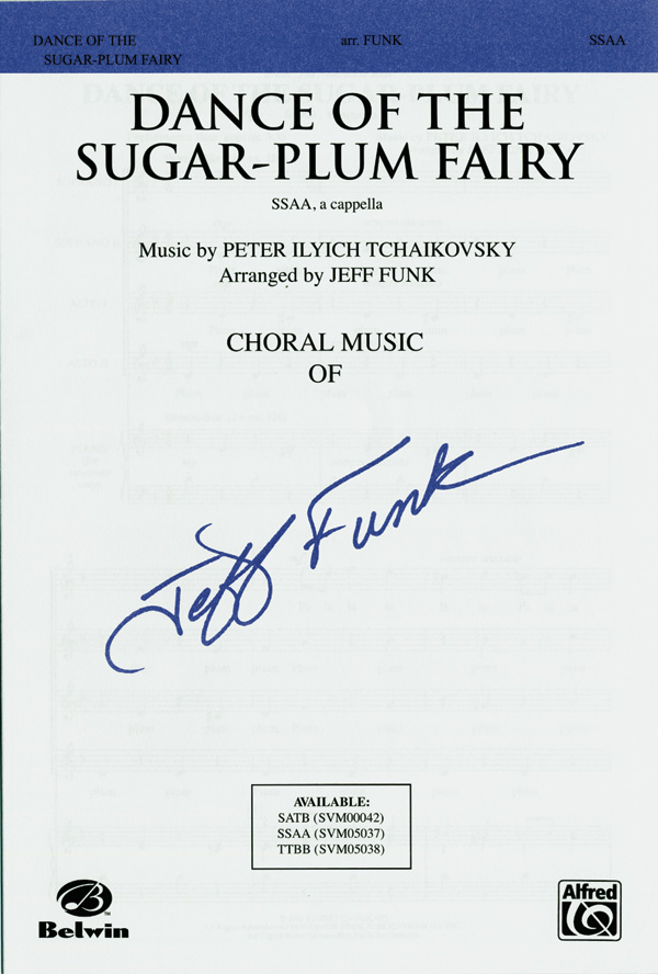 Dance of the Sugar-Plum Fairy : SSAA : Jeff Funk : The Nutcracker : Sheet Music : 00-SVM05037 : 654979089728