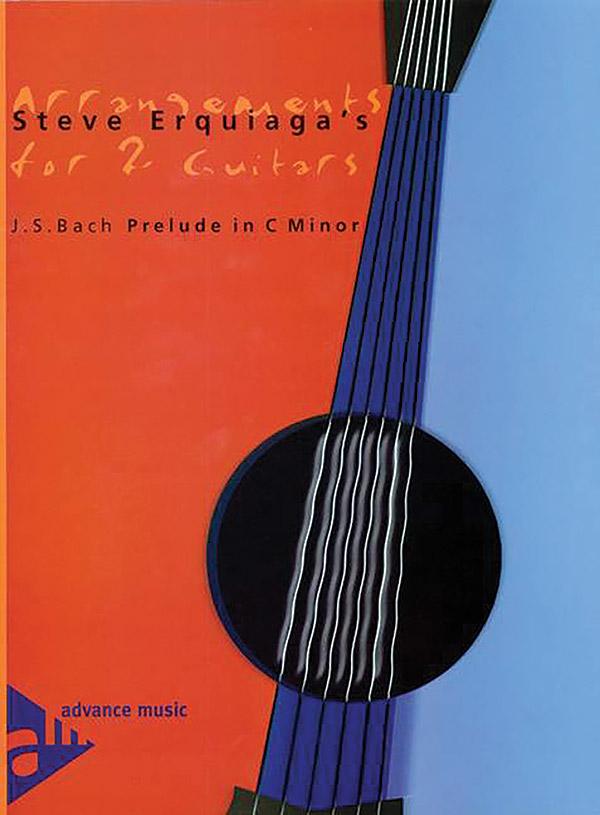 Steve Erquiaga's Arrangements for 2 Guitars: Prelude in C Minor