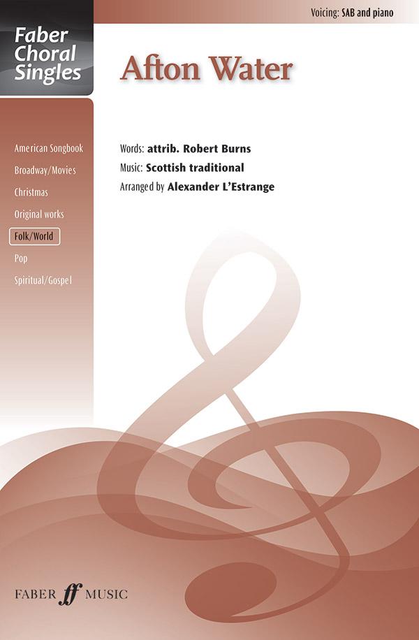 Afton Water : SAB : Alexander L'Estrange : Sheet Music : 12-0571537804 : 9780571537808