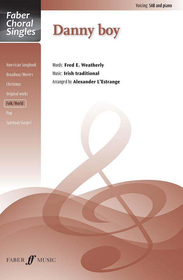 Choral Arrangements from Ireland, Irish choir music