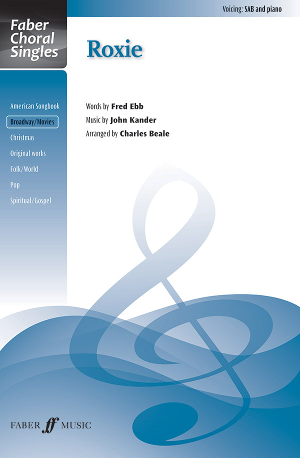 Roxie : SAB : Charles Beale : Sheet Music : 12-057153807X : 9780571538072
