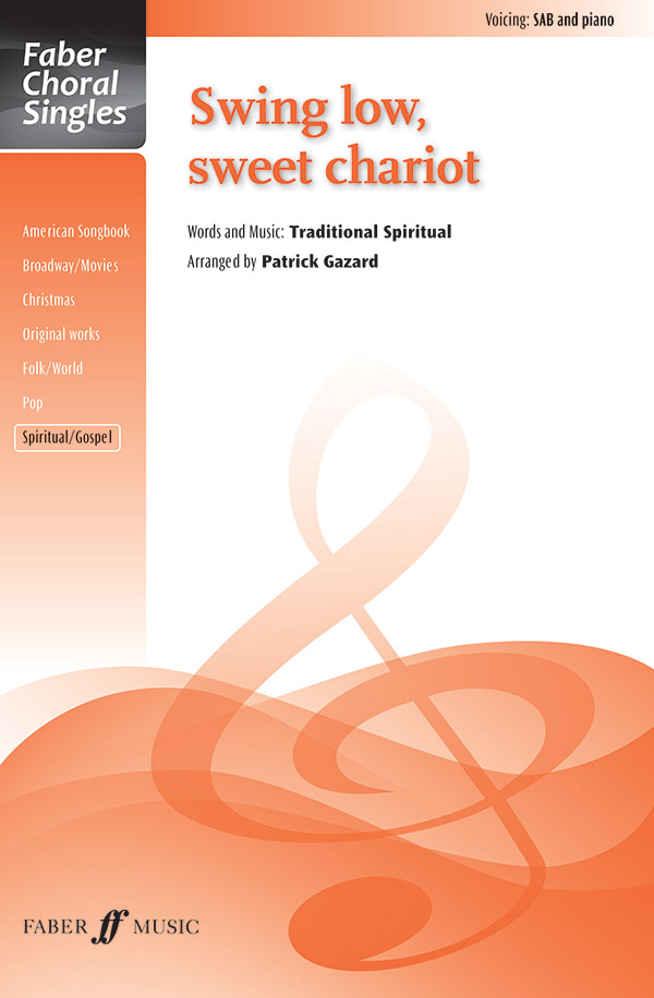 Swing Low, Sweet Chariot : SAB : Patrick Gazard : Sheet Music : 12-0571538150 : 9780571538157
