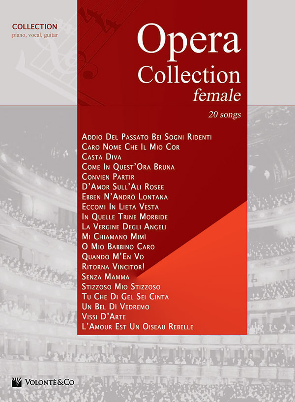 Opera Collection Female Female Voice Book