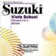 Suzuki Viola School CD, Volume 3 & 4 (Revised)