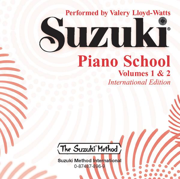 Suzuki Piano School CD, Volume 1 & 2
