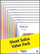 Alfred's Sheet Solos Books 1-10 Value Pack 2012