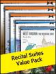 Alfred's Recital Suites 2012 (Value Pack)