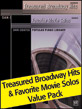 Dan Coates Popular Piano Library: Treasured Broadway Hits & Favorite Movie Solos Value Pack 2012