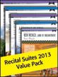 Alfred's Recital Suites Value Pack 2013 (Value Pack)