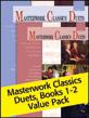 Masterwork Classics Duets, Levels 1 & 2 Value Pack