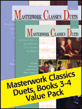 Masterwork Classics Duets, Levels 3-4 Value Pack