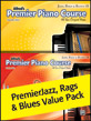 Premier Piano Course, Jazz, Rags & Blues 1A & 1B (Value Pack)