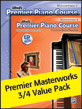 Premier Piano Course: Masterworks, Books 3-4 Value Pack