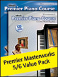 Premier Piano Course: Masterworks, Books 5-6 Value Pack