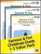 Famous & Fun Christmas Duets 1-3 (Value Pack)