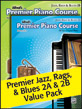 Premier Jazz, Rags & Blues 2A-2B Value Pack