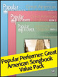 Popular Performer: Great American Songbook 1-3 Value Pack