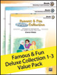 Famous & Fun Deluxe Collection 1-3 Value Pack