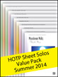 Sheet Solos Value Pack Summer 2014