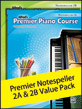 Premier Piano Course Notespeller 2A & 2B Value Pack