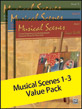 Musical Scenes 1-3 Value Pack