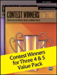 Contest Winners for Three 4 & 5 Value Pack