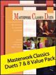 Masterwork Classics Duets, Levels 7 & 8 Value Pack