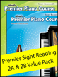 Premier Piano Course Sight Reading 2A & 2B Value Pack