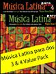 Música Latina para dos 3 & 4 Value Pack