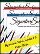 Signature Solos 1-3 (Value Pack)