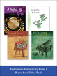 valuepack* Federation Elementary Class I Piano Solo (Value Pack)