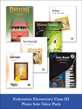 valuepack* Federation Elementary Class III Piano Solo (Value Pack)