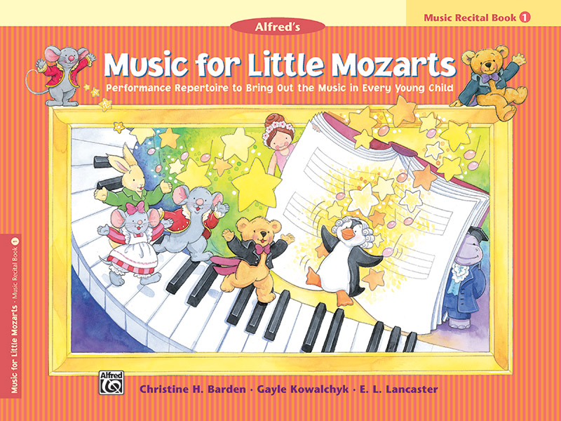 Music for Little Mozarts: Music Recital Book 1