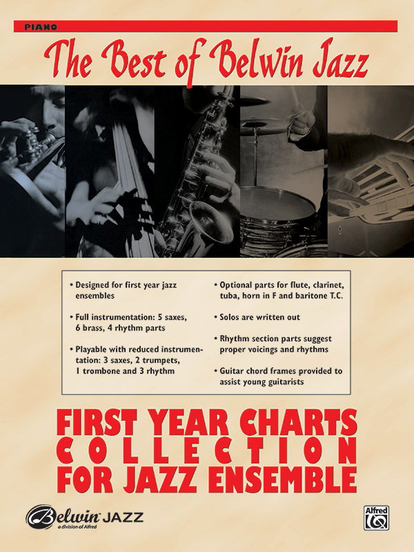 Best of Belwin Jazz: First Year Charts Collection for Jazz Ensemble