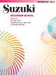 Suzuki Recorder School (Soprano and Alto Recorder) Recorder Part, Volume 8