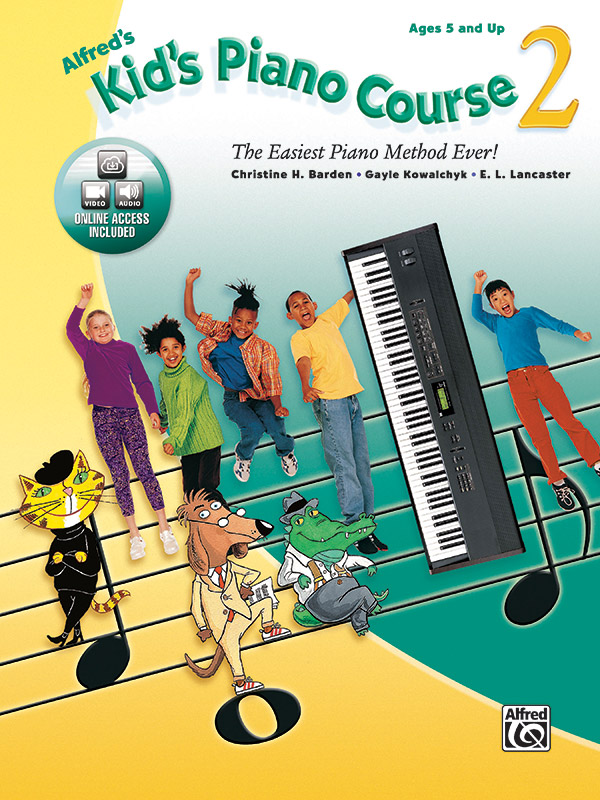 Alfred's Kid's Piano Course 2
