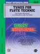 Student Instrumental Course: Tunes for Flute Technic, Level I