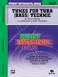 Student Instrumental Course: Tunes for Tuba Technic, Level I