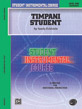 Student Instrumental Course: Timpani Student, Level I