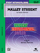 Student Instrumental Course: Mallet Student, Level I