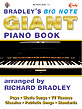Bradley's Big Note Giant Piano Book