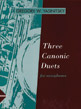 Three Canonic Duets